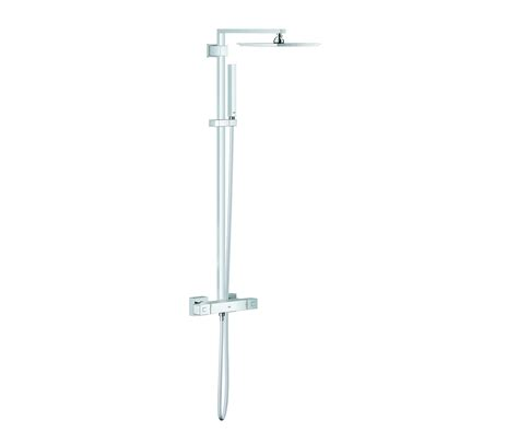 Home Designer Pro Change Wall Height by Euphoria Cube Xxl System 230 Shower System With Thermostatic Mixer Shower Taps Mixers From