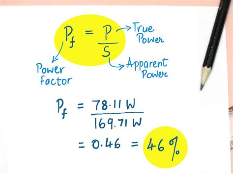 power factor correction equation how to calculate power factor correction 8 steps with pictures