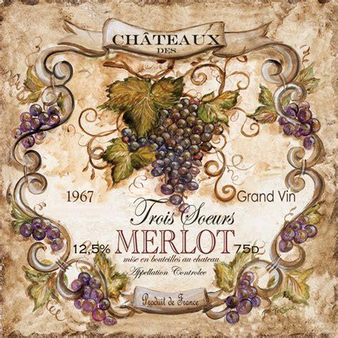 Cellar Wine Glasses - tre sorelle s art licensing program