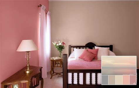 Bedroom Color Combinations Pink Bedroom In Dusky Pink Ideas For Colour Combinations As A