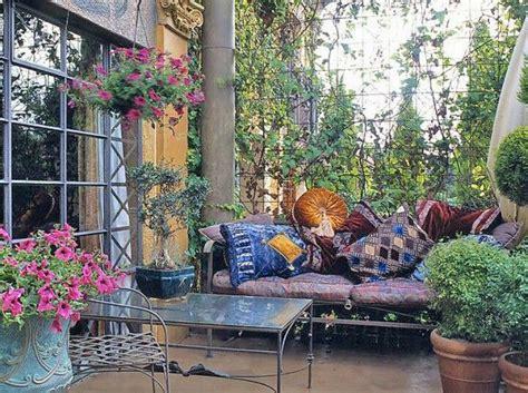 moroccan d 233 cor cement patio 233 best bohemian garden patio homes images on pinterest