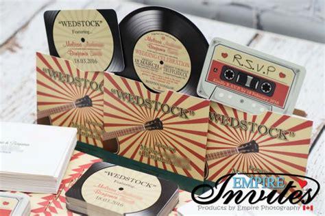 record label wedding invitations retro vinyl record themed wedding invitations to