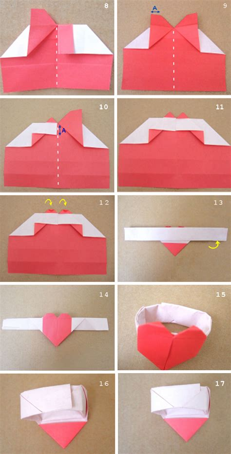How To Fold A Paper Ring - paper crafts for sweat origami tutorial