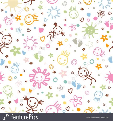seamless pattern baby abstract patterns baby seamless pattern stock