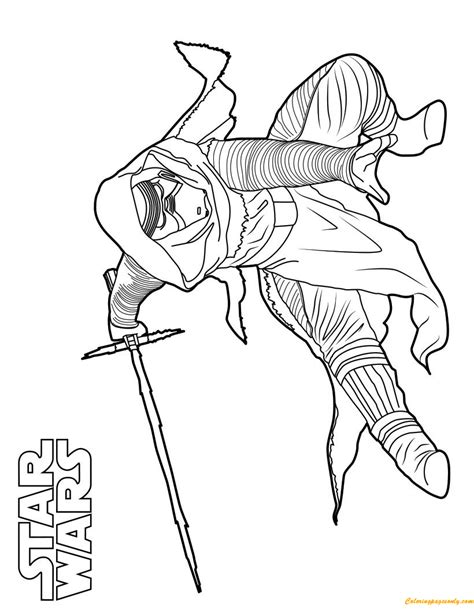 coloring pages kylo ren kylo ren star wars coloring page free coloring pages online