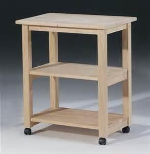 wood microwave cart w 2 shelves id 14393 ebay