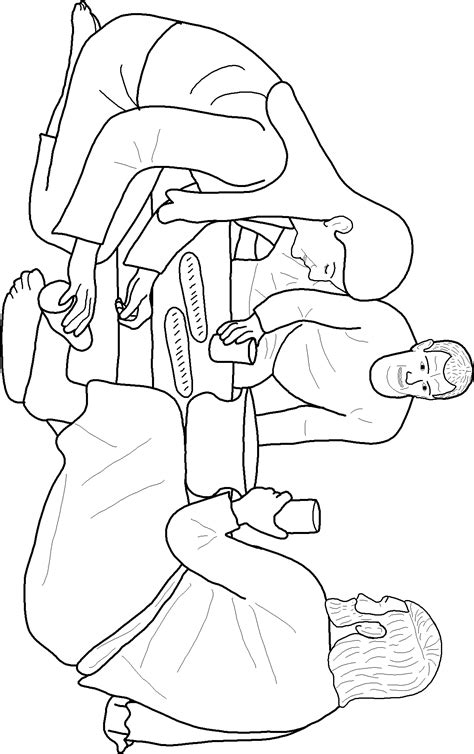 mary anoints jesus feet coloring page az coloring pages