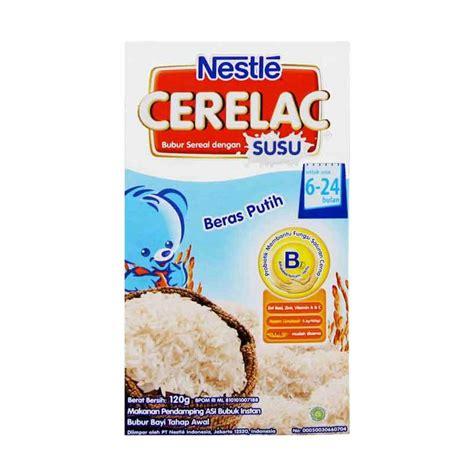 Cerelac Bubur Bayi jual nestle cerelac makanan bayi beras putih 120gr