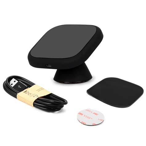 ebay qi charger qi wireless car charger charging pad 360 degree rotatable