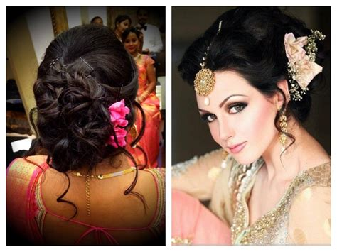 hairstyles for thin hair for saree festive look hairstyles for sarees indian beauty tips
