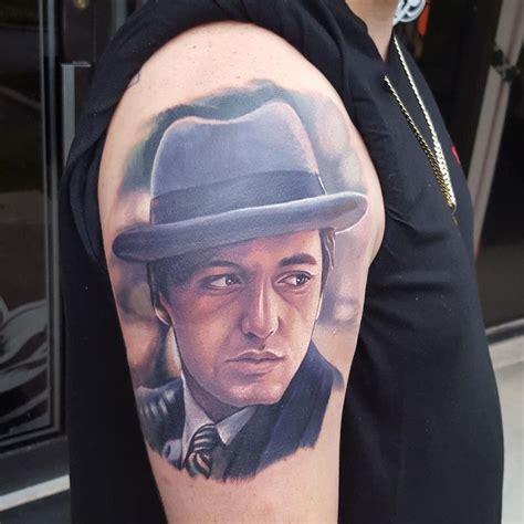 godfather tattoo the godfather by halo tattoonow