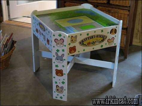 calico critter table introducing calico critters play table irkincat