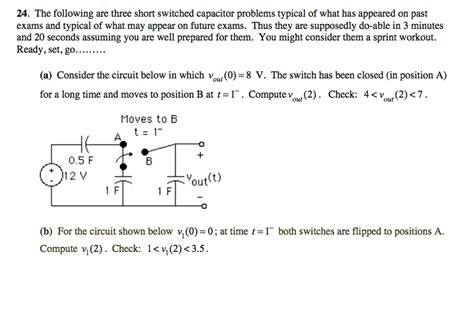 capacitor problems with solutions capacitor problems and answers 28 images problem 1 25 points consider the single phase cap