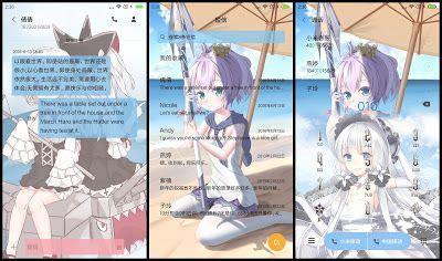 anime themes  xiaomi tema xiaomi bilan hangxian azur