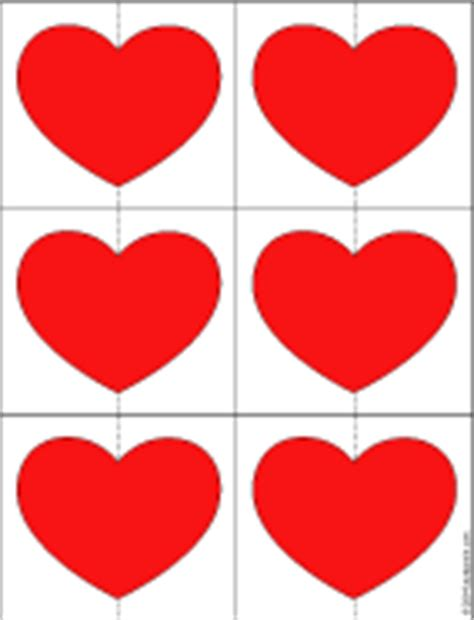 printable red heart shapes how to make a 3 d heart valentine valentine s day crafts