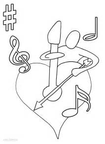 Galerry music coloring pic