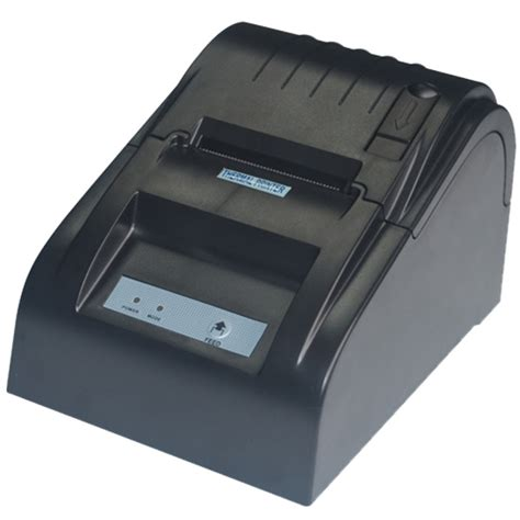 Acrylic Warna 5mm Zjiang Pos Thermal Printer 57 5mm Zj 5890t Black Jakartanotebook