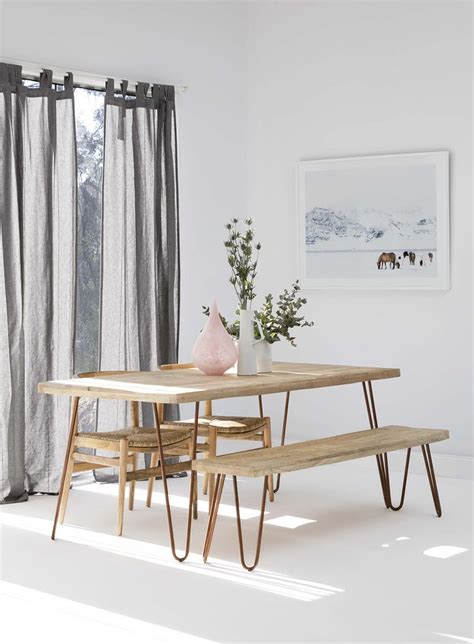 wooden dining table with bench seats 25 best ideas about dining table bench on