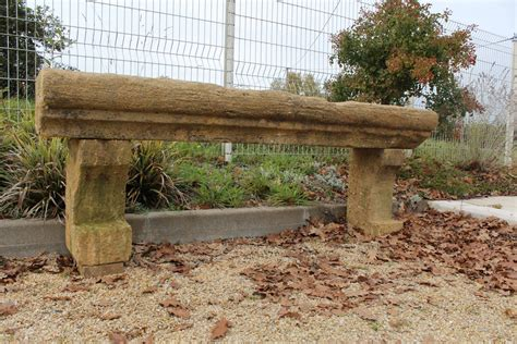 limestone bench antique french limestone console table or garden bench
