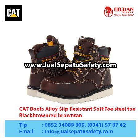 Sepatu Boots Caterpillar Bishop Steel Toe Brown Safety Ujung Besi harga sepatu caterpillar termurah sepatu caterpillar