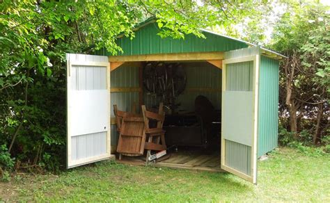 Shed In Backyard by Backyard Shed Build