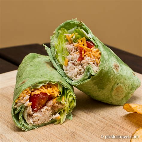 to wrap chicken ranch wrap recipe