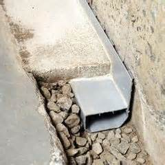 basement channel drain installing an interior drain system benefits of