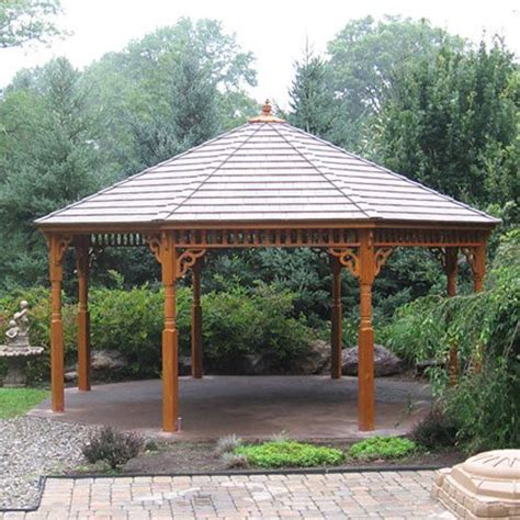 Big Gazebo 22 Luxury Large Wooden Gazebos Pixelmari
