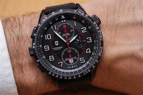 Swiss Army Sa4089m Black victorinox airboss black edition watches on ablogtowatch