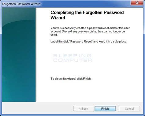 reset password windows xp external drive create password reset disk windows xp usb drive