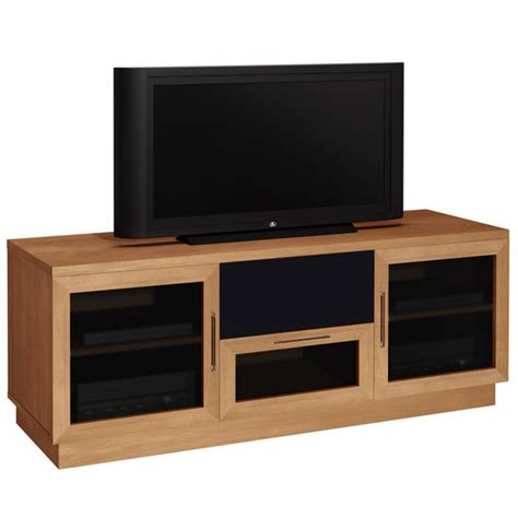 Entertainment Centers With Glass Doors Entertainment Centers 60 Quot Contemporary Tv Entertainment Console With Glass Doors By Furnitech