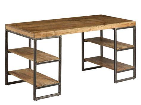scrivania on line scrivania industrial acacia e ferro mobili vendita