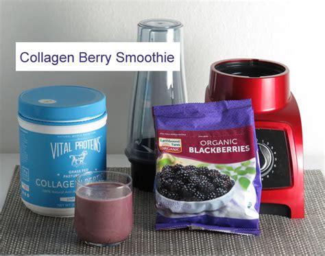 Berry Collagen collagen berry smoothie recipe
