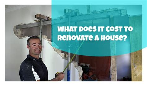 cost to renovate a house what does it cost to renovate a house archives renovation junkies