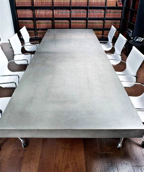 Concrete Conference Table 31 Best Fireplace Surrounds Images On Pinterest Concrete Fireplace Mantles And Fireplace
