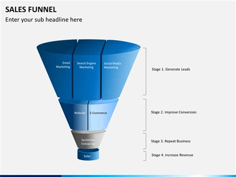 sales funnel powerpoint template sales funnel powerpoint template sketchbubble