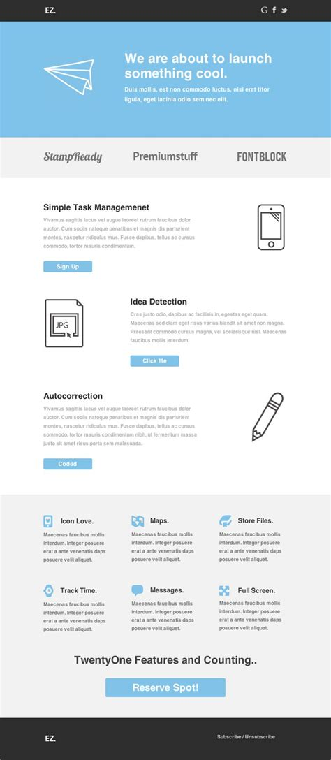 themeforest mailchimp 23 best images about email templates design on pinterest