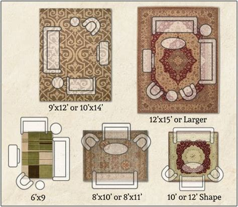 Furniture Placement On Area Rugs The World S Catalog Of Ideas