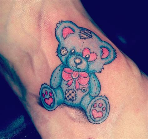 cute teddy bear tattoo designs teddy flash creativefan