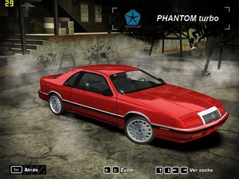 chrysler phantom need for speed most wanted chrysler phantom turbo lebaron