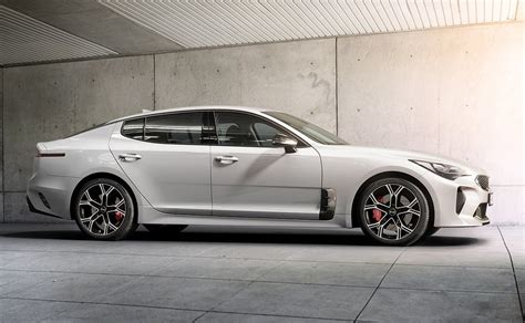 Kia May Tesla Model S Knock 2018 Kia Stinger May Go All