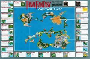 Ff1 World Map by Final Fantasy Nes World Map Final Fantasy Pinterest
