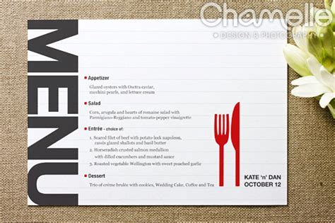 menu card design layout lucy bowers menu design inspiration