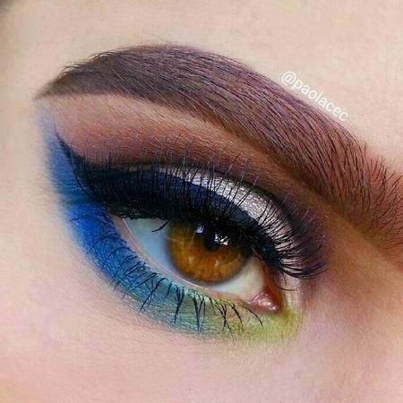 Eyeliner Warna trend solekan terbaru eyeliner warna menonjol wanista