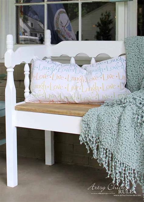 tj maxx headboard thrifty porch decor artsy chicks rule 174
