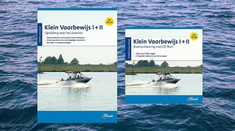 vaarbewijs halen friesland anwb water informatie voor de watersportliefhebber