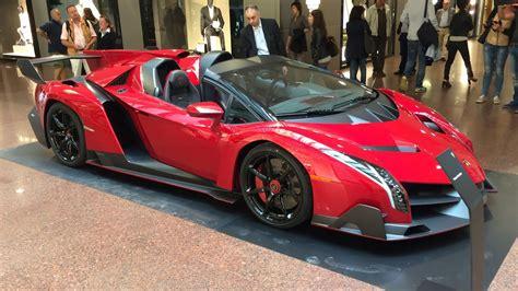 Lamborghini Veneno Roadster ?3.3m Hypercar   Startup and