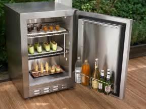 patio refrigerator outdoor kitchen appliances hgtv