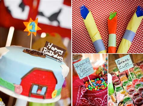 farm themed birthday decorations farm birthday ideas barnyard theme