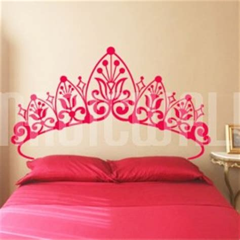 Princess Headboards by Wall Decals Princess Headboard Wall Stickers